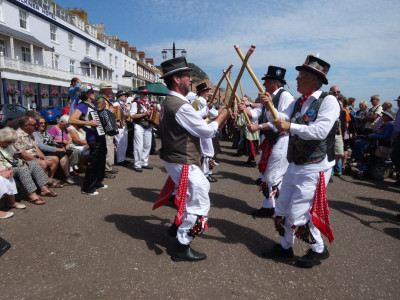Tinners Morris at Sidmouth Folk Festival