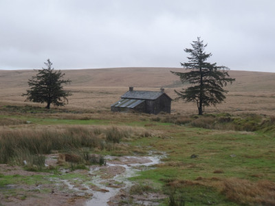 Nun's Cross Farm: eerily bleak on a wet December day