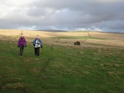 On Ringmoor Down, looking back towards Gutter Tor