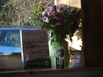 Dartmoor Magazine beautifully displayed at Dartmoor Bakery!