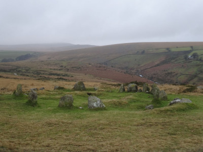 Nine Maidens on a dull January day